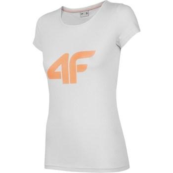 Îmbracaminte Femei Tricouri mânecă scurtă 4F TSD005 Gri