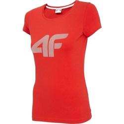 Îmbracaminte Femei Tricouri mânecă scurtă 4F TSD005 Roșii
