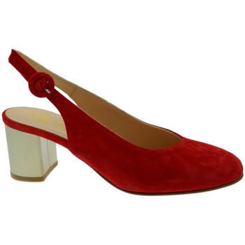 Pantofi Femei Sandale  Soffice Sogno SOSO20052ro rosso