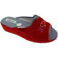 Pantofi Femei Papuci de casă Cristina CRIS24ros rosso