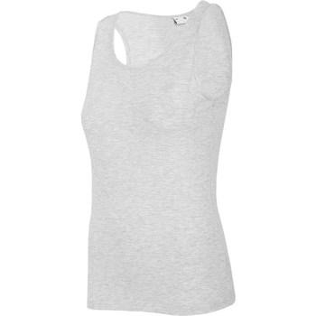 Îmbracaminte Femei Maiouri și Tricouri fără mânecă 4F TSD003 Gri