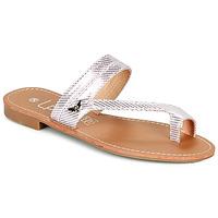Pantofi Femei  Flip-Flops Les Petites Bombes EVA Roz / Argintiu