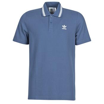 Îmbracaminte Bărbați Tricou Polo mânecă scurtă adidas Originals PIQUE POLO Albastru