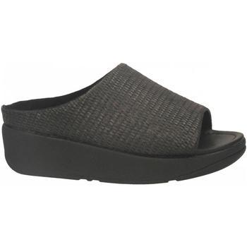 Pantofi Femei Sandale  FitFlop IMOGEN BASKET WAVE SLIDE black