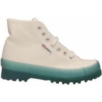 Pantofi Femei Pantofi sport stil gheata Superga 2341-ALPINA JELLYGUM COTU a0a-white-blue-lt-crysta