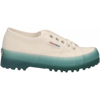 Pantofi Femei Pantofi sport Casual Superga 2555-ALPINA JELLYGUM COTU a0a-white-blue-lt-crysta