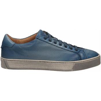 Pantofi Bărbați Pantofi sport Casual Santoni DERBY 7 OCC. FORGOOSE azzurro