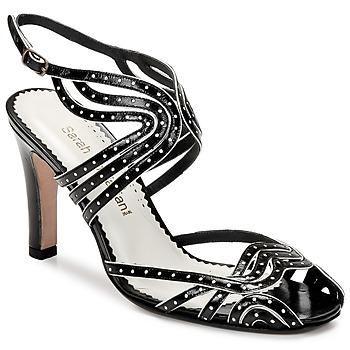Pantofi Femei Sandale  Sarah Chofakian WINGS Negru / Auriu