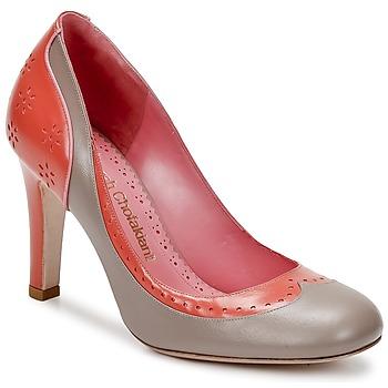 Pantofi Femei Pantofi cu toc Sarah Chofakian LAUTREC ArgilĂ / Somon