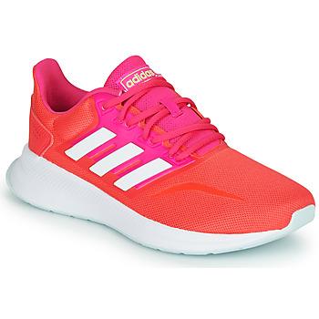 Pantofi Femei Trail și running adidas Performance RUNFALCON Roșu / Roz