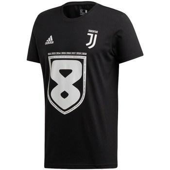Îmbracaminte Bărbați Tricouri mânecă scurtă adidas Originals Juventus 19 Win Negre