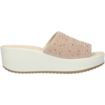 Pantofi Femei Papuci de vară Imac 508280 Beige