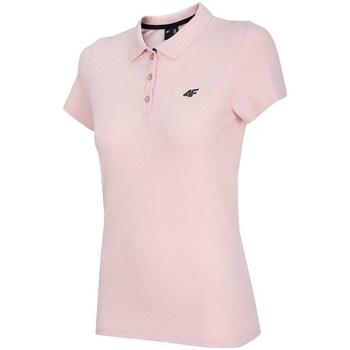 Îmbracaminte Femei Tricou Polo mânecă scurtă 4F TSD007 Roz