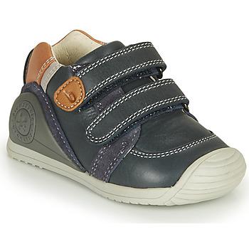 Pantofi Băieți Pantofi sport Casual Biomecanics BOTIN VELCROS Bleumarin