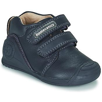 Pantofi Copii Pantofi sport Casual Biomecanics BOTIN DOS VELCROS Bleumarin