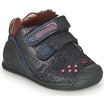 Pantofi Fete Pantofi sport Casual Biomecanics BOTIN ELASTICO Albastru