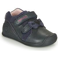 Pantofi Fete Pantofi sport Casual Biomecanics BOTIN LAZO Albastru