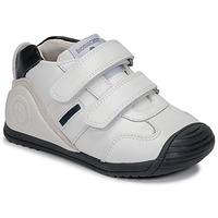 Pantofi Băieți Pantofi sport Casual Biomecanics BIOGATEO SPORT Alb
