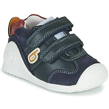Pantofi Băieți Pantofi sport Casual Biomecanics ZAPATO SPORT VELCRO Albastru