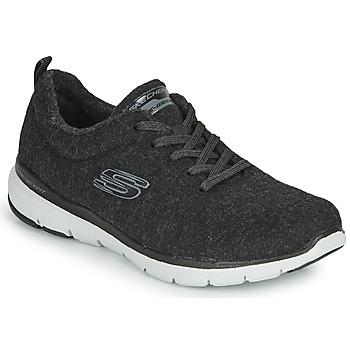 Pantofi Femei Fitness și Training Skechers FLEX APPEAL 3.0 PLUSH JOY Negru