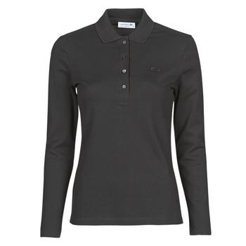Îmbracaminte Femei Tricou Polo manecă lungă Lacoste PF5464 Negru
