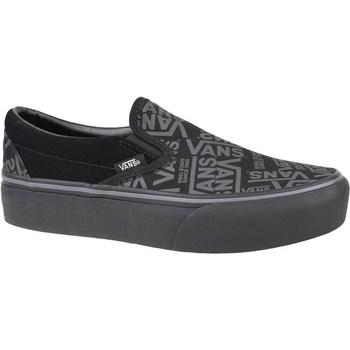 Pantofi Femei Pantofi Slip on Vans 66 Classic Slipon Platform Gri, Grafit