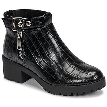 Pantofi Femei Ghete Moony Mood NIETTE Negru