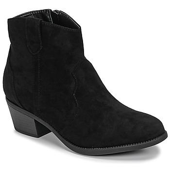 Pantofi Femei Ghete Moony Mood NINITE Negru