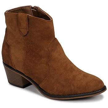 Pantofi Femei Ghete Moony Mood NINITE Camel