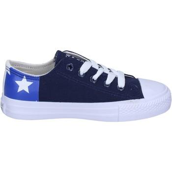 Pantofi Băieți Sneakers Beverly Hills Polo Club BM763 Albastru