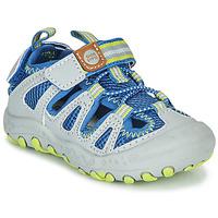 Pantofi Copii Sandale sport Gioseppo MEXICALI Gri / Albastru