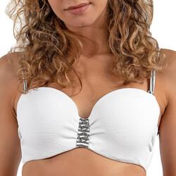 Îmbracaminte Femei Costume de baie separabile  LPB Woman 0011 / HAUT BOURGEOIS Alb