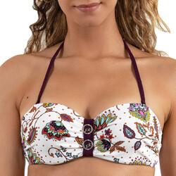 Îmbracaminte Femei Costume de baie separabile  LPB Woman 0011 / HAUT COOL Alb