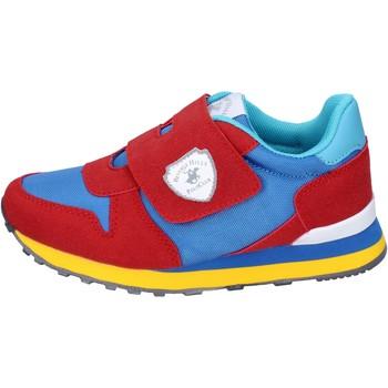 Pantofi Băieți Sneakers Beverly Hills Polo Club BM767 Roșu