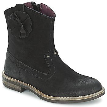 Pantofi Fete Ghete Mod'8 NOLA Negru
