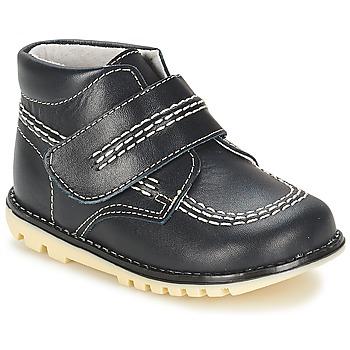 Pantofi Băieți Ghete Citrouille et Compagnie MELIN Albastru
