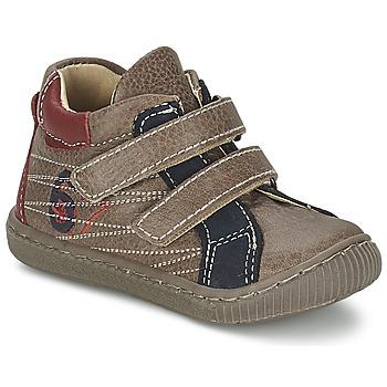 Pantofi Băieți Pantofi sport stil gheata Citrouille et Compagnie THEO Taupe