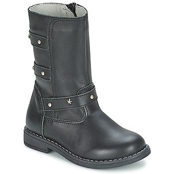 Pantofi Fete Cizme casual Citrouille et Compagnie ELZA Negru