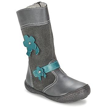 Pantofi Fete Cizme casual Citrouille et Compagnie RINDAR Gri