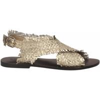 Pantofi Femei Sandale  Strategia LOVE STRING platino