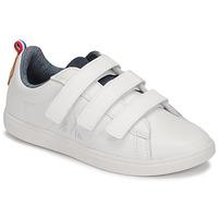 Pantofi Copii Pantofi sport Casual Le Coq Sportif COURTCLASSIC PS Alb