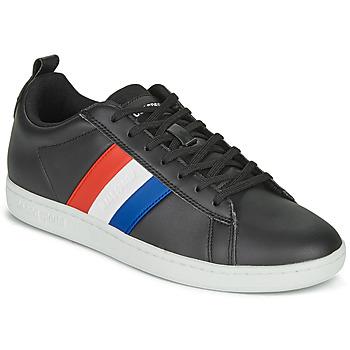 Pantofi Pantofi sport Casual Le Coq Sportif COURTCLASSIC FLAG Negru