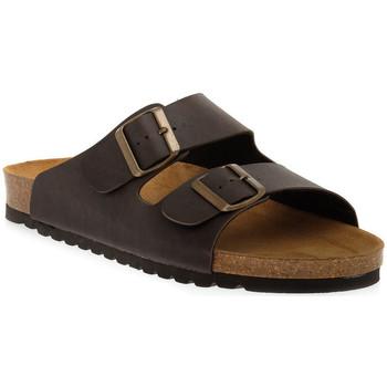 Pantofi Femei Papuci de vară Bioline 420 MORO PREMIER Marrone
