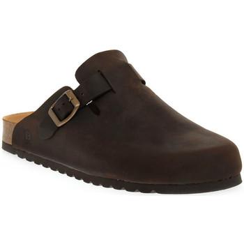 Pantofi Femei Saboti Bioline 1900 MORO INGRASSATO Marrone