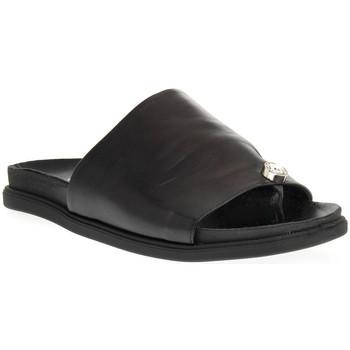 Pantofi Femei Papuci de vară Sono Italiana NAPPA NERO Nero