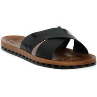 Pantofi Femei Papuci de vară Sensi 001 AMALFI NERO Nero