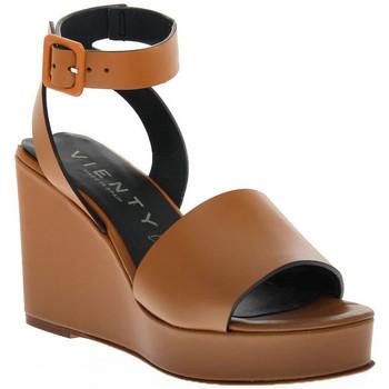 Pantofi Femei Sandale  Vienty CUERO NOX Marrone