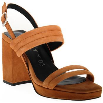 Pantofi Femei Sandale  Vienty TAN JIM Marrone