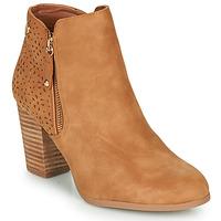 Pantofi Femei Botine Xti  Coniac