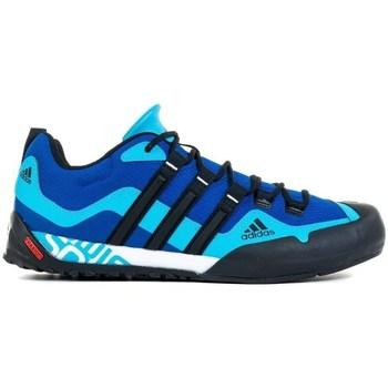 Pantofi Bărbați Drumetie și trekking adidas Originals Terrex Swift Solo Negre, Albastre, Albastru marim